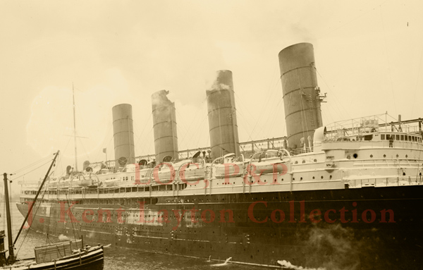 Lusitania December 1912
