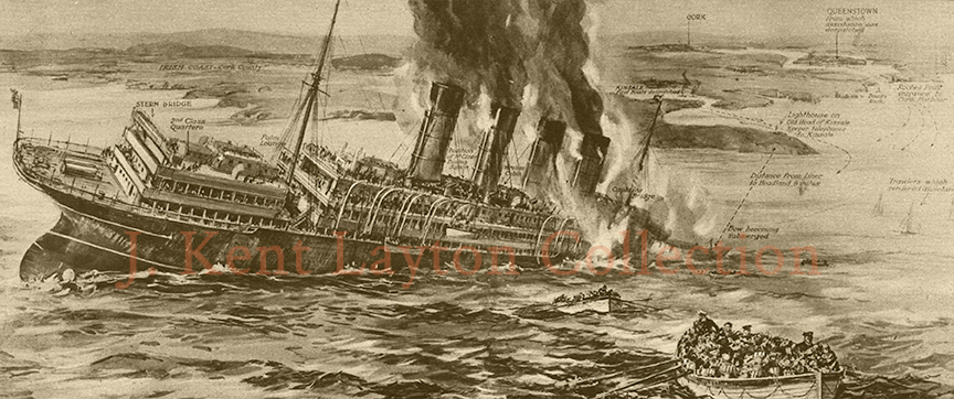 Lusitania-sinking-J_Kent_Layton_Collection