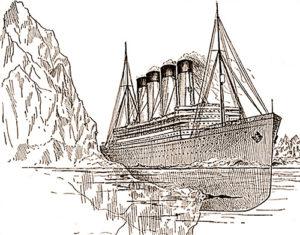 Titanic Collision Iceberg