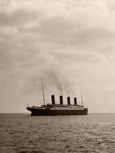 Titanic Departs Queenstown