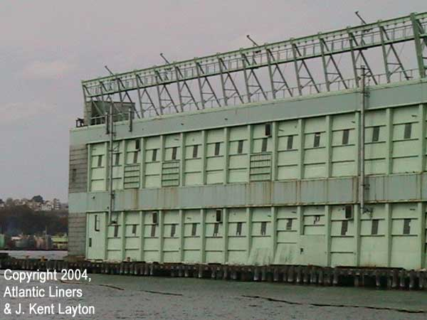 More details of Pier 56. (Photo by J. Kent Layton)