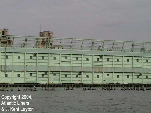 Details of Pier 56 building. (Photo by J. Kent Layton)