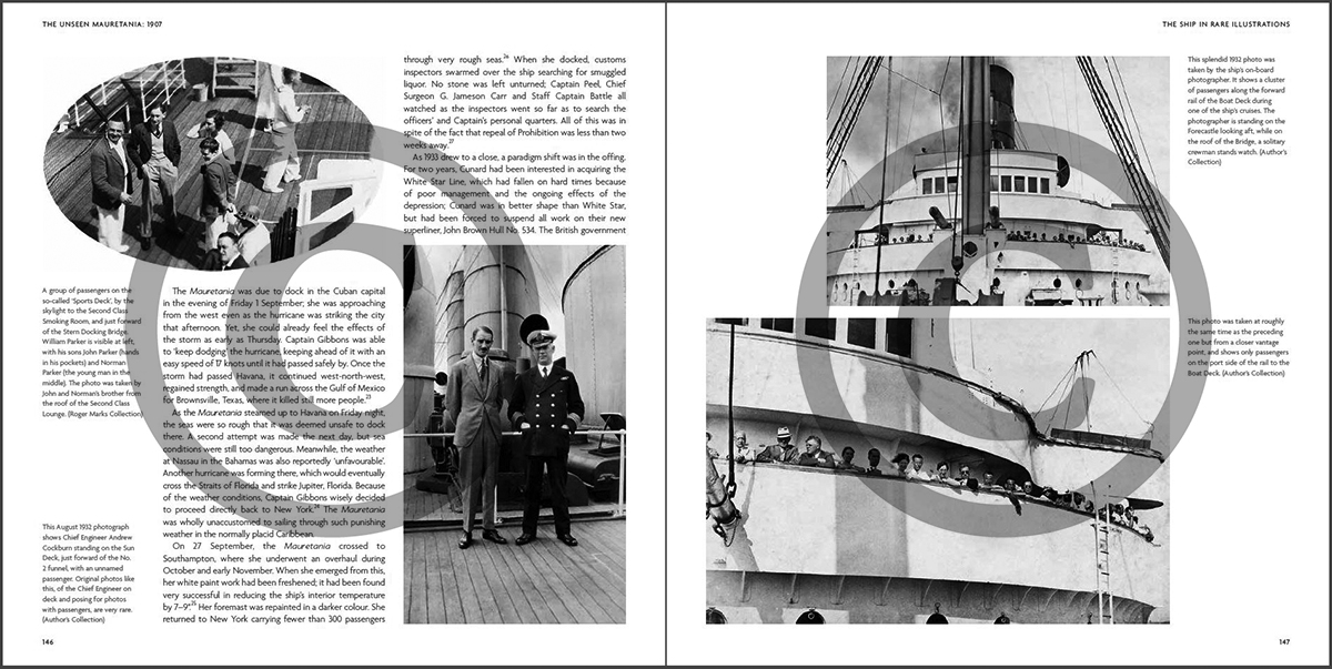 The Unseen Mauretania [1907]: The Ship In Rare Illustrations