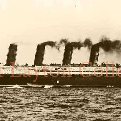 This fine port side view taken on her trials shows the ship making excellent speed, neatly carving through the sea. (J. Kent Layton Collection)