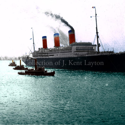 The preceding image, colorized. (J. Kent Layton Collection)
